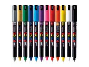 posca marker pc 1mr ultrafine colors pin 07mm