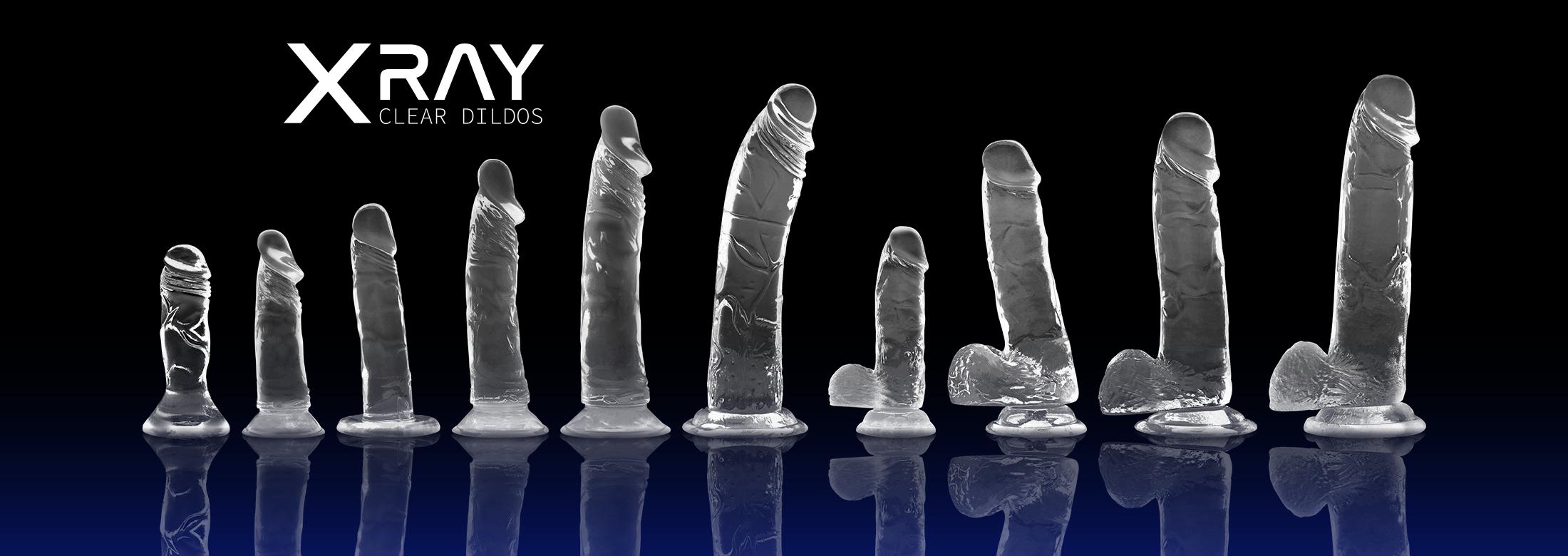 Xray Clear Dildos
