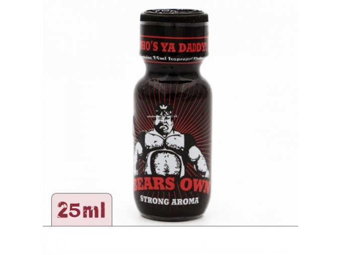 Poppers XL Bears Own 25ml