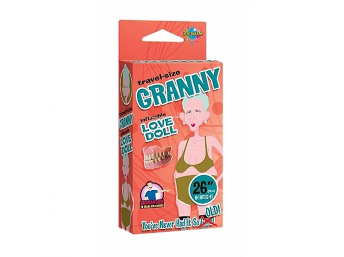 70574 granny inflatable love doll
