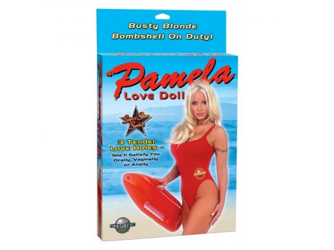 70421 1 pamela full size love doll with 3 penetrating holes flesh