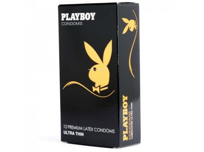 84626 1 playboy ultra fino condon transparente 12 uds 54mm