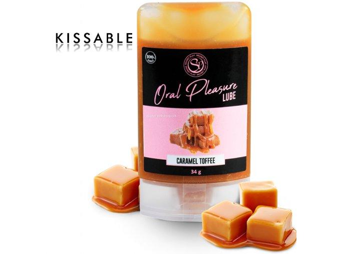 82307 secretplay lubricant kissable caramel toffee