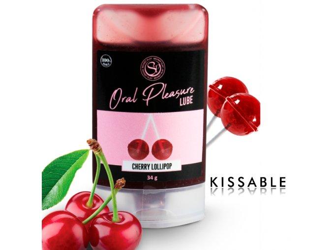 82292 secretplay lubricant kissable cherry lollipop
