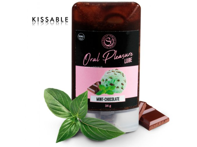 82298 secretplay lubricant kissable mint chocolate