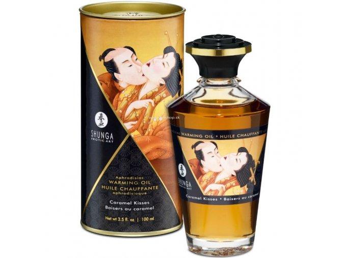 17456 shunga aphrodisiac warming oil caramel kisses 100 ml