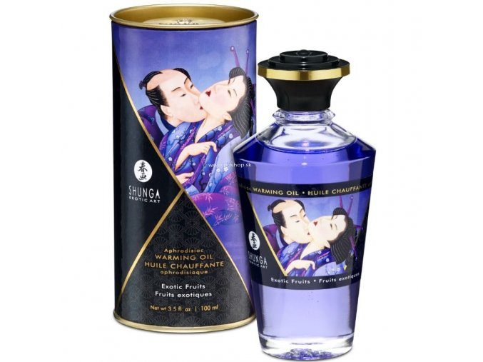 17438 shunga aphrodisiac warming oil exotic fruits 100 ml