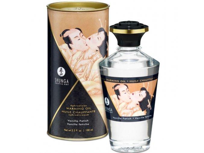 17441 shunga aphrodisiac warming oil fetish vanilla 100 ml
