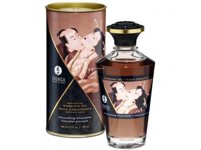 17447 shunga aphrodisiac warming oil chocolate 100 ml