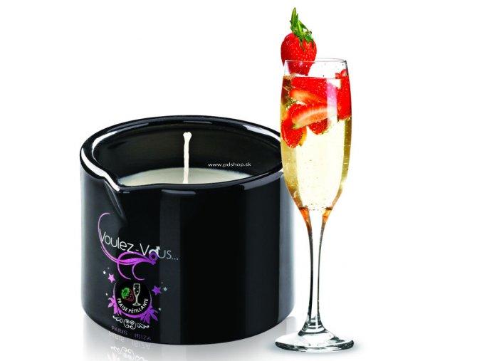 19346 voulez vous massage candle cava strawberries