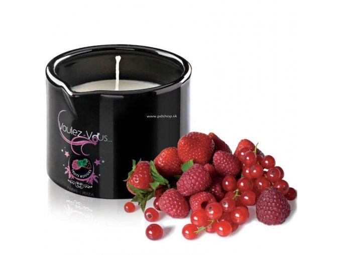 19331 voulez vous massage candle red berries