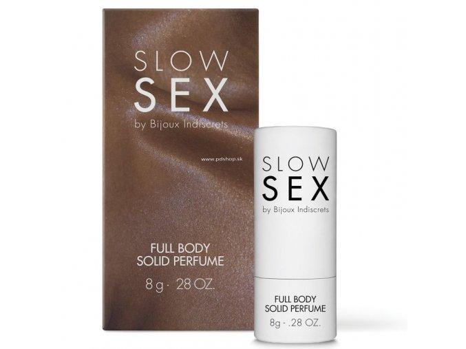 33020 bijoux indiscrets slow sex full body solid perfume 8g