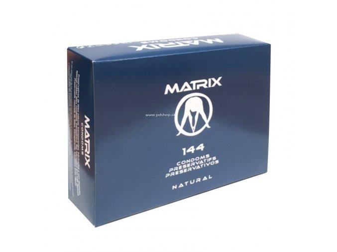 MATRIX CONDOMS NATURAL 144Pcs  + Darček
