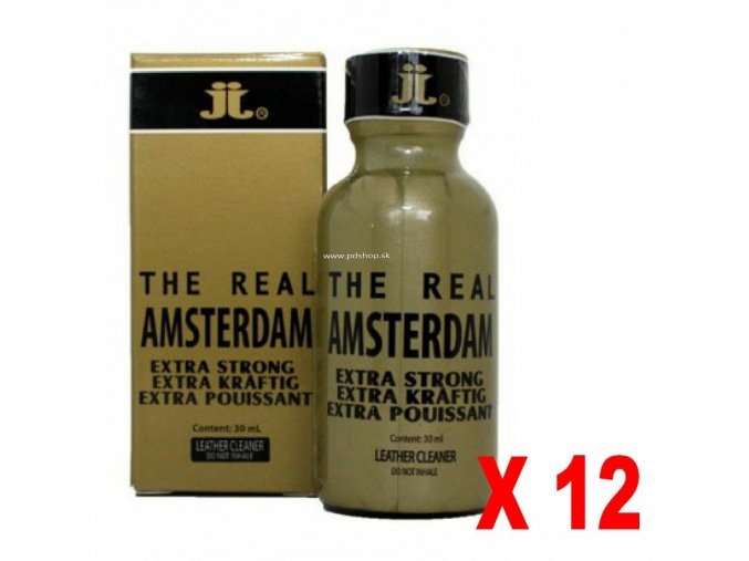 THE REAL AMSTERDAM big 30ml x 12ks