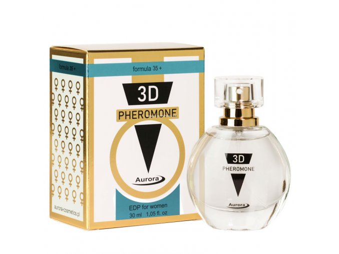 3D PHEROMONE EDP  nad 35 rokov 30 ml  + darček vzorka voňavky 1,5 ml