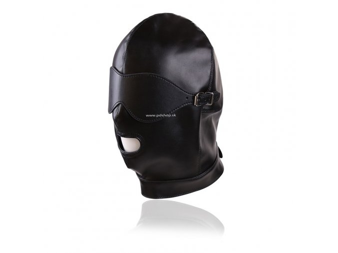 leather gimp mask hood with eyes open (2)