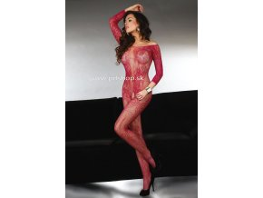 10436 abra bodystocking maroon