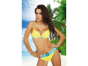 10595 basanti bikini yellow