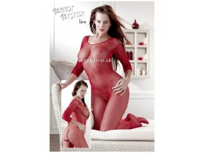 7001 catsuit red s l