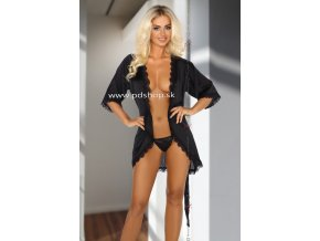 10391 shannon dressing gown black
