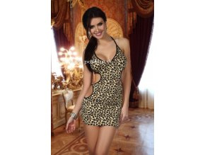 6827 tropical chemise