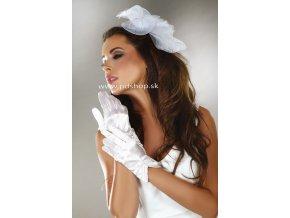 10721 white satin gloves model 2