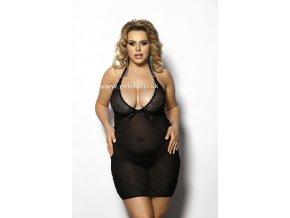 27401 1 amysa black chemise xl cierna spodnicka