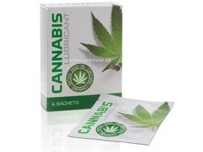 17384 cobeco cannabis lube pack 6 sachets 4ml