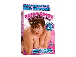 70424 fatty patty doll with 3 love holes flesh