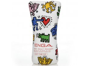 30932 tenga soft tube cup by keith haring