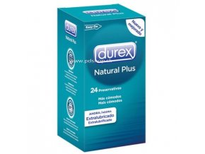 87371 durex natural plus 24 units