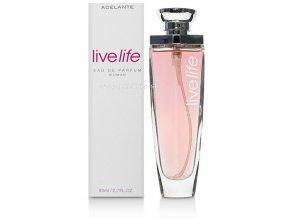 81374 eau parfum live life woman 80ml