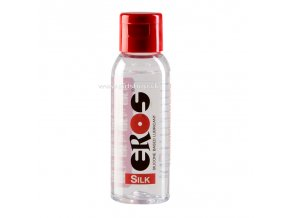 81995 eros silk silicone based lubricant 50ml