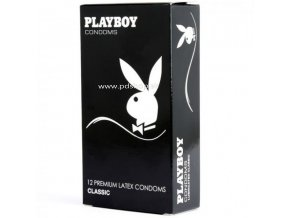 87494 playboy transparent classic condom 54mm 12 pack