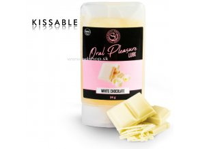 82304 secretplay lubricant kissable white chocolate
