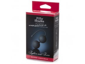 1283 4 fifty shades of grey silicone jiggle balls