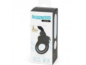 4493 3 happy rabbit rechargeable cock ring black