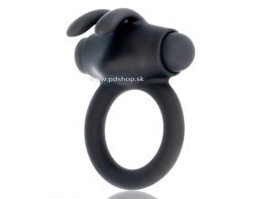 12656 1 black silver agron cock ring