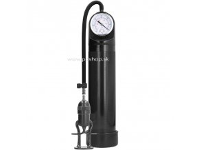 7490 pumped deluxe pump with advanced psi gauge black