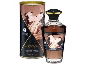 17447 shunga aphrodisiac warming oil chocolate 100 ml