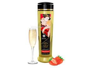 SHUNGA EROTIC MASSAGE OIL ROMANCE 240ML  + Darček
