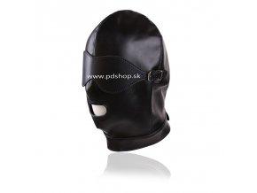 leather gimp mask hood with eyes open (2)