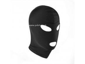 leather gimp mask hood with eyes open (3)