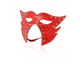 leather gimp mask hood with eyes open (7)