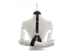 ball gag with nipple clamps (2)