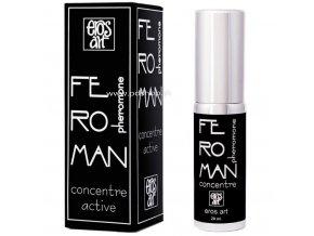 FEROMAN PARFUM FEROMONOVY KONCENTRAT 20ML  + Darček kondóm alebo lubrikačný gél