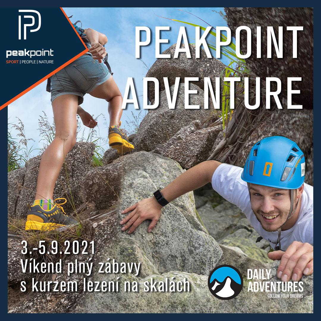 Sběr peakpointů a nových přátel na skalách!!