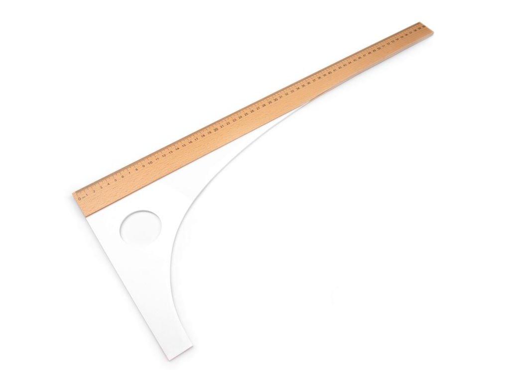 Krajčírsky príložník dĺžka 60 cm, 80 cm 730097