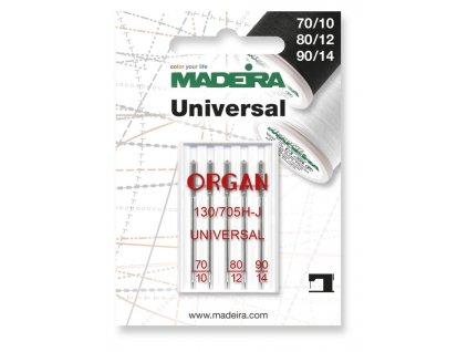 Univerzálne ihly Madeira 130/705H 70/10, 80/12, 90/14