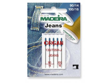 Ihly na džínsovinu Madeira 130/705H-J 90/14, 100/16